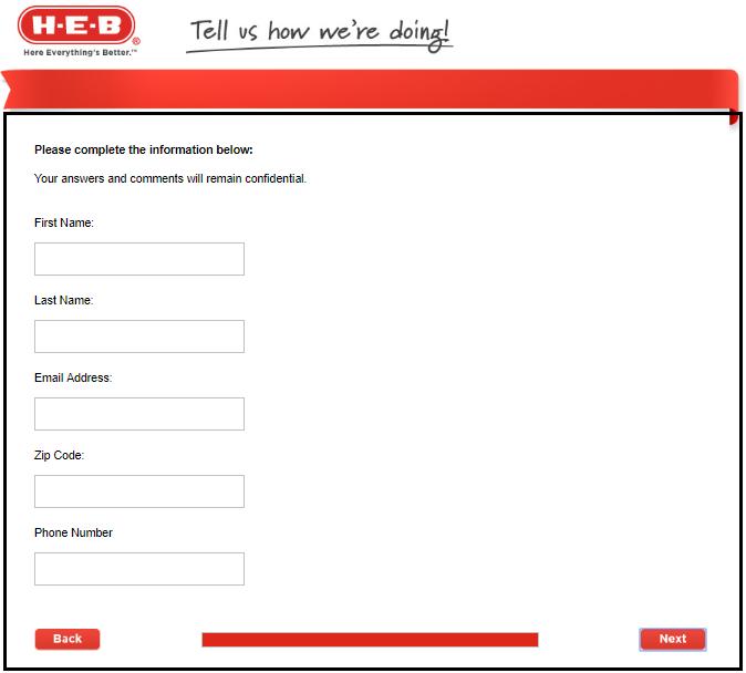 HEB survey contact details image