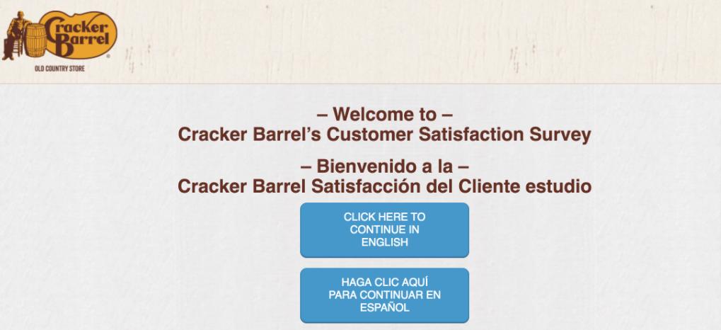 crackerbarrel-survey.com survey page image