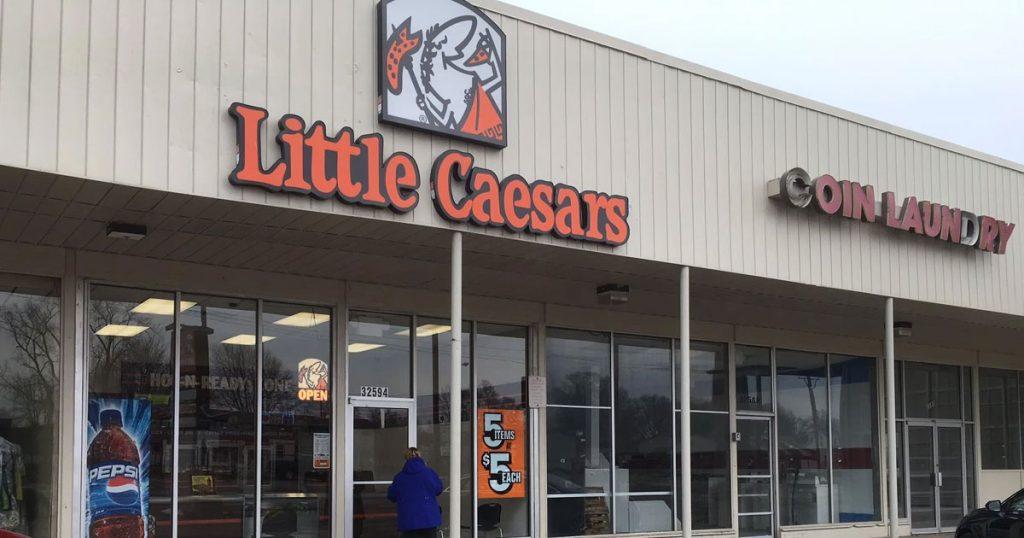 Little Caesars listens survey Image