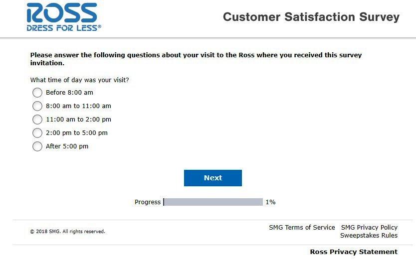 Rosslistens Survey Questions Image