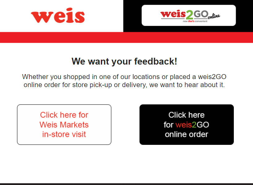 Weisfeedback page Image