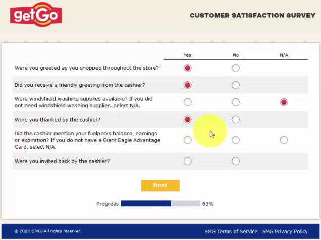 getgo feedback survey questions image