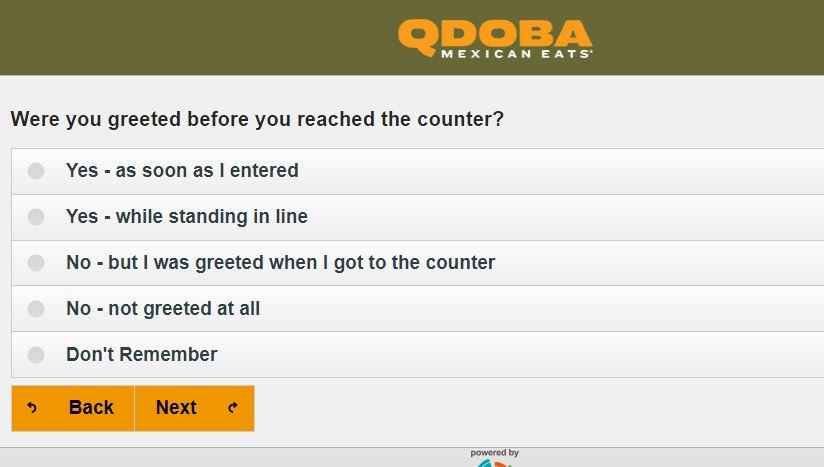 qdoba listens survey questions image