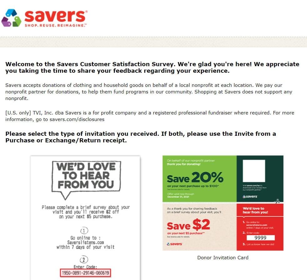 saverslistens.com page image