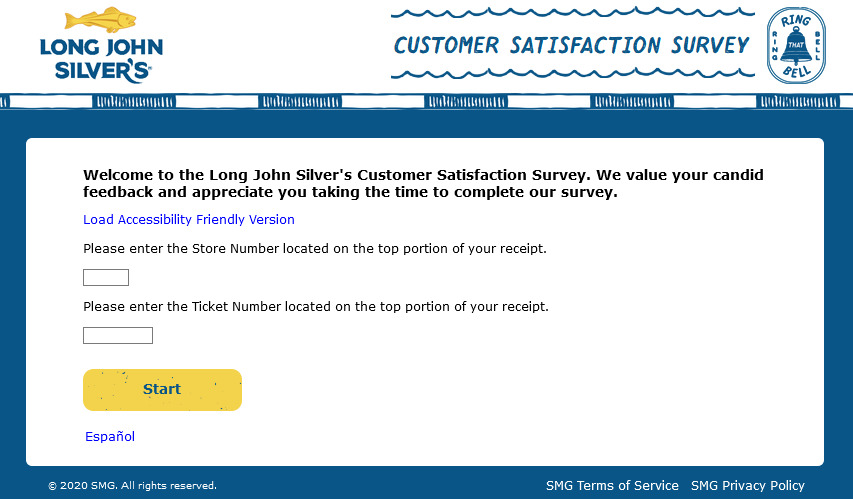 www.mylongjohnsilversexperience.com survey entry image
