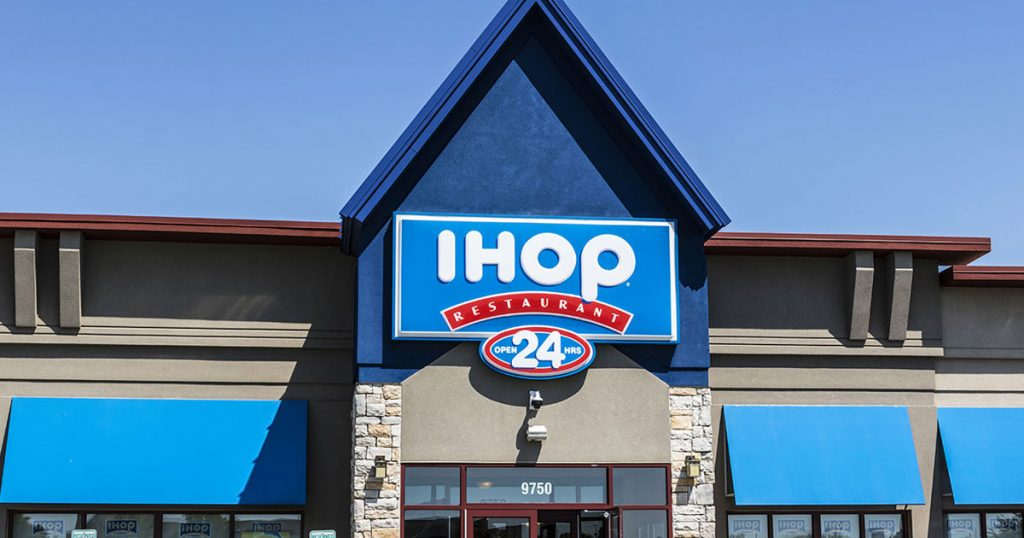 IHOP customer survey image