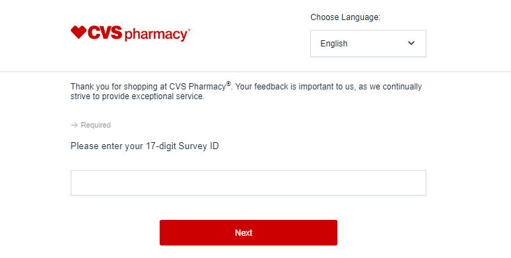 cvs customer survey image