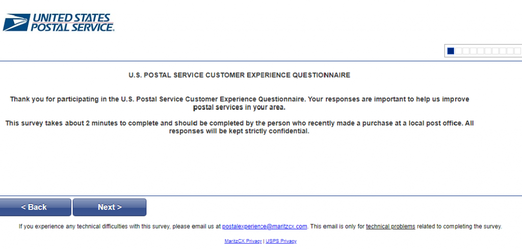 usps customer satisfaction survey questions image